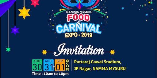 Namma Mysuru Food And Carnival Expo-2019