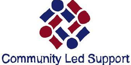 Community Led Support - The Customer Pathway & Process Mapping Workshop 21 August - Morning tickets
