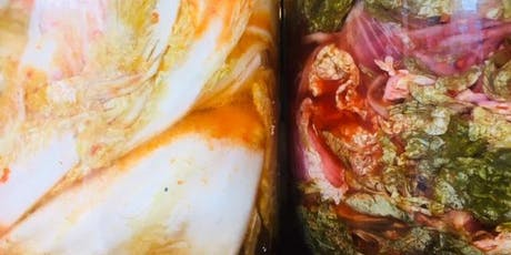 Introduction to Fermentation - Vegetables, Fruits, Kombucha, Kefir tickets