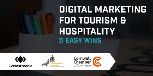 Digital Marketing for Tourism & Hospitality - 5 Easy Wins