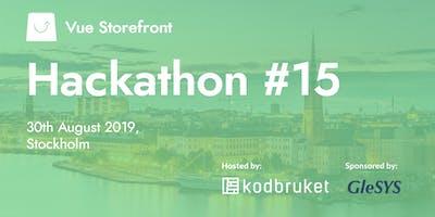 Vue Storefront Hackathon #15 Stockholm