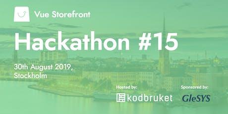 Vue Storefront Hackathon #15 Stockholm tickets