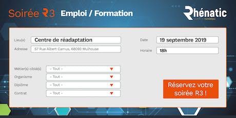Soirée R3 - emploi, formation / septembre 2019 billets