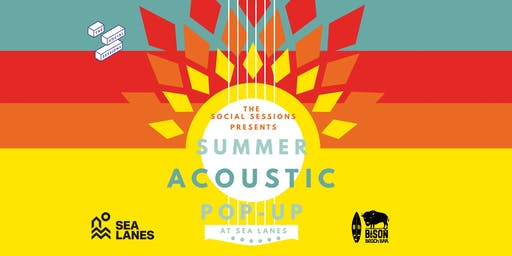 Summer acoustic pop up