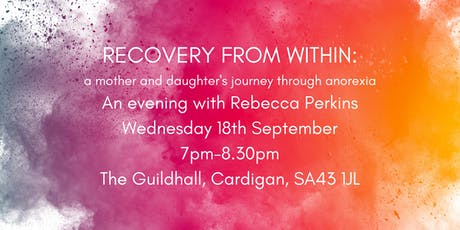 Recovery from Within: a mother and daughter's journey through anorexia tickets