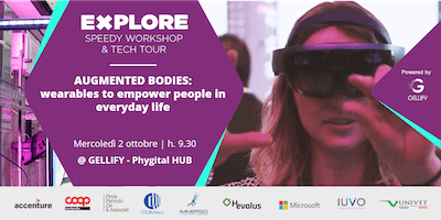 Speedy Workshop - Augmented Bodies: wearables to empower people in every day life.