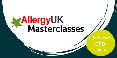 Allergy UK: Food Allergy and other Allergic Manifestations  -19th November 2019 tickets