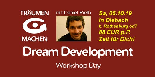 TRÄUMEN & MACHEN Workshop Day mit Daniel Rieth
