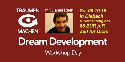 TRÄUMEN & MACHEN Workshop Day mit Daniel Rieth