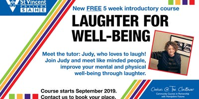 Laughter for wellbeing FREE 5 week introduction course