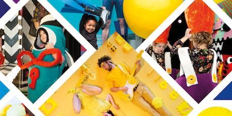 't Zonnehuis op zijn kop: Familiefestival KLEURRIJK tickets