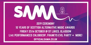 Scottish Alternative Music Awards 2019 Ceremony