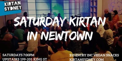 Saturday Kirtan in Newtown - Live Mantra Music Meditation - Kirtan Sydney