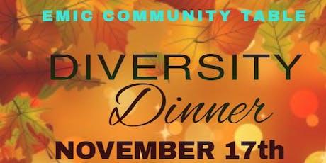 EMIC DIVERSITY DINNER tickets