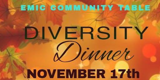 EMIC DIVERSITY DINNER