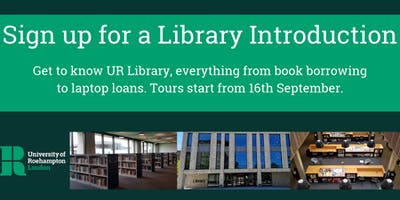 Library Introduction Tours 2019