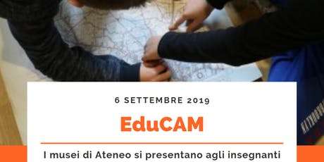 EduCAM - OpenDay per gli insegnanti biglietti