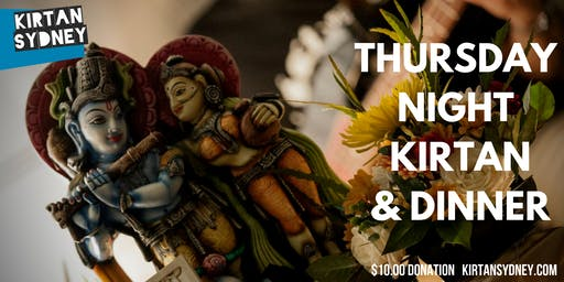 Thursday Night Kirtan/Mantra Meditation & Dinner - Kirtan Sydney