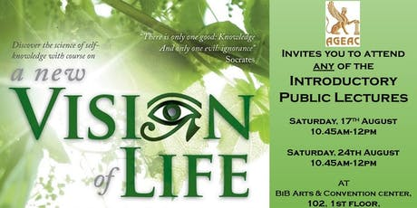 A New Vision of Life tickets