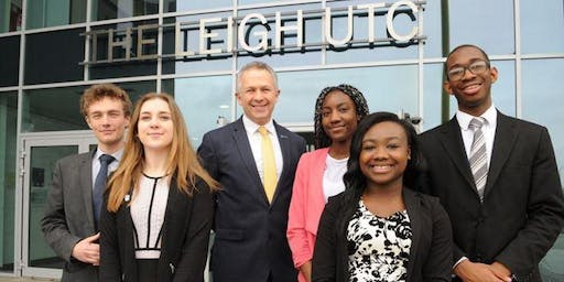 The Leigh UTC Open Day for September 2020 Intake - Years 7, 10 & 12