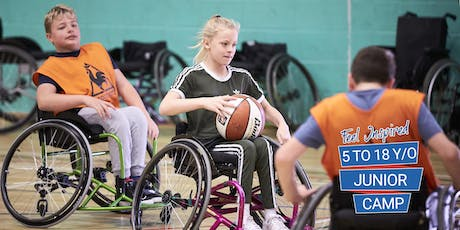 WheelPower - Feel Inspired (5 to 18 Year Old) Junior Camp in partnership with Rotary Cambridge - 12th Nov 2019  tickets
