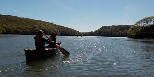 South West Outdoor Festival Open Canoe session.