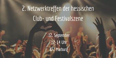 2. Netzwerktreffen der hessischen Club- und Festivalszene