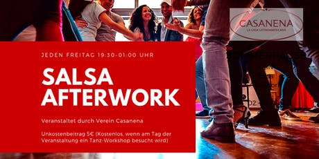 Salsa Afterwork Tickets