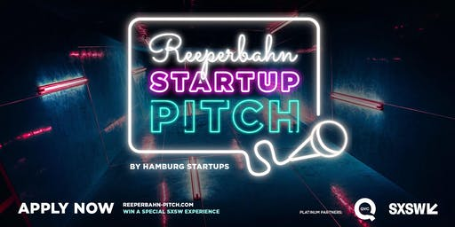 Reeperbahn Startup Pitch 2019