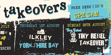 TINY REBEL TAKEOVER - BANK HOLIDAY tickets