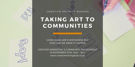 Marketing your Community Projects tickets