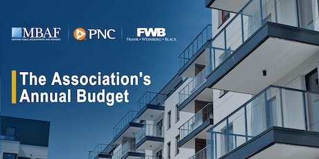 Budgeting for Condominiums and Homeowners' Associations tickets