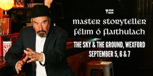 Master Storyteller Félim Ó Flaithulach