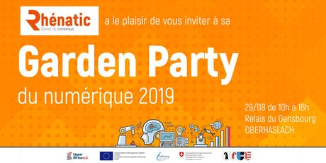 Garden Party du Numérique by Rhénatic tickets