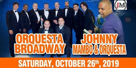 SALSA WITH ORQUESTA BROADWAY & JOHNNY MAMBO  at Mist HARLEM 46 W 116st tickets