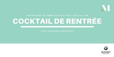 En partenariat avec BMW Huchet Rennes, venez découvrir les projets en campagne  sur myOptions.co billets