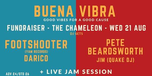 Buena Vibra: Footshooter, Pete Beardsworth, Darico, Jim (Quake) + Live Jam Session