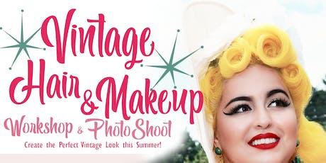 Vintage Hair & Makeup Workshop/Photo shoot tickets