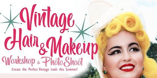 Vintage Hair & Makeup Workshop/Photo shoot