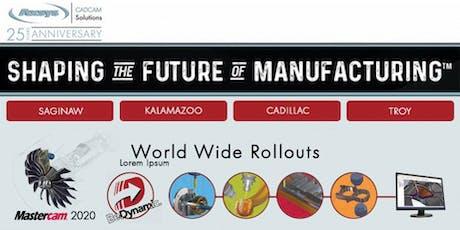 Axsys Mastercam 2020 Rollout Seminar: Seco Tools, Inc. tickets