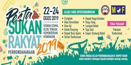 Pesta Sukan Rakyat Perbendaharaan 2019 tickets