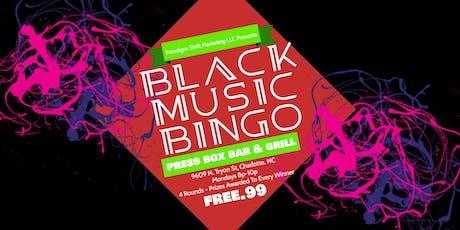 Black Music Bingo at Press Box Bar & Grill tickets