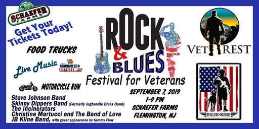 Rock and Blues Festival For Veterans at Schaefer Farms