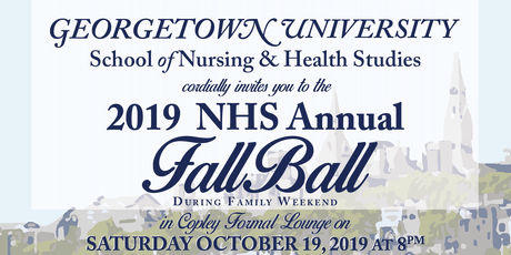 NHS Academic Council Presents: Fall Ball 2019 tickets