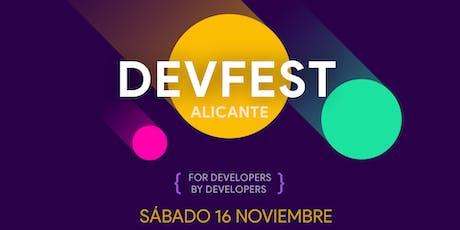 DevFest Alicante 2019 entradas