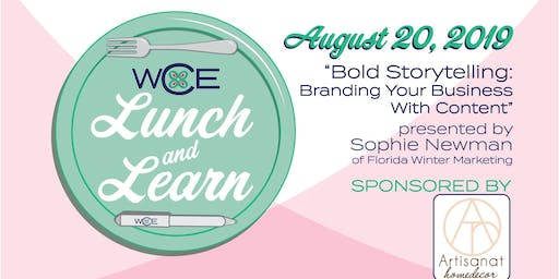 Lunch and Learn on Bold Storytelling: Branding your business