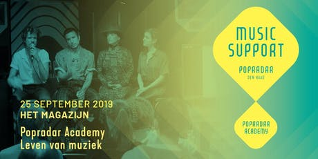Popradar Academy | Leven van muziek tickets