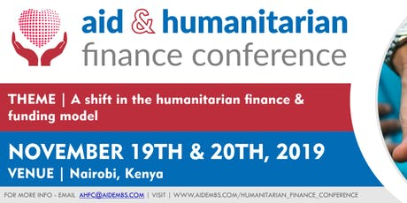 Aid and Humanitarian Finance Conference Africa  tickets