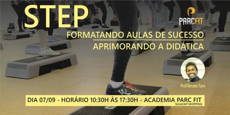 CAPACITAÇÃO EM STEP - FORMATANDO AULAS DE SUCESSO  ingressos