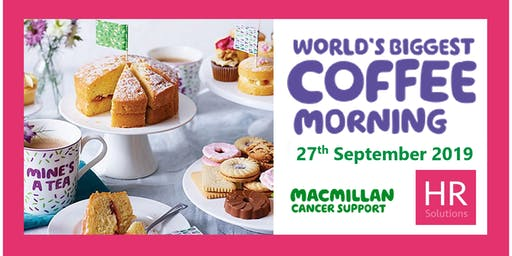 HR Solutions Great Big Coffee Morning 2019